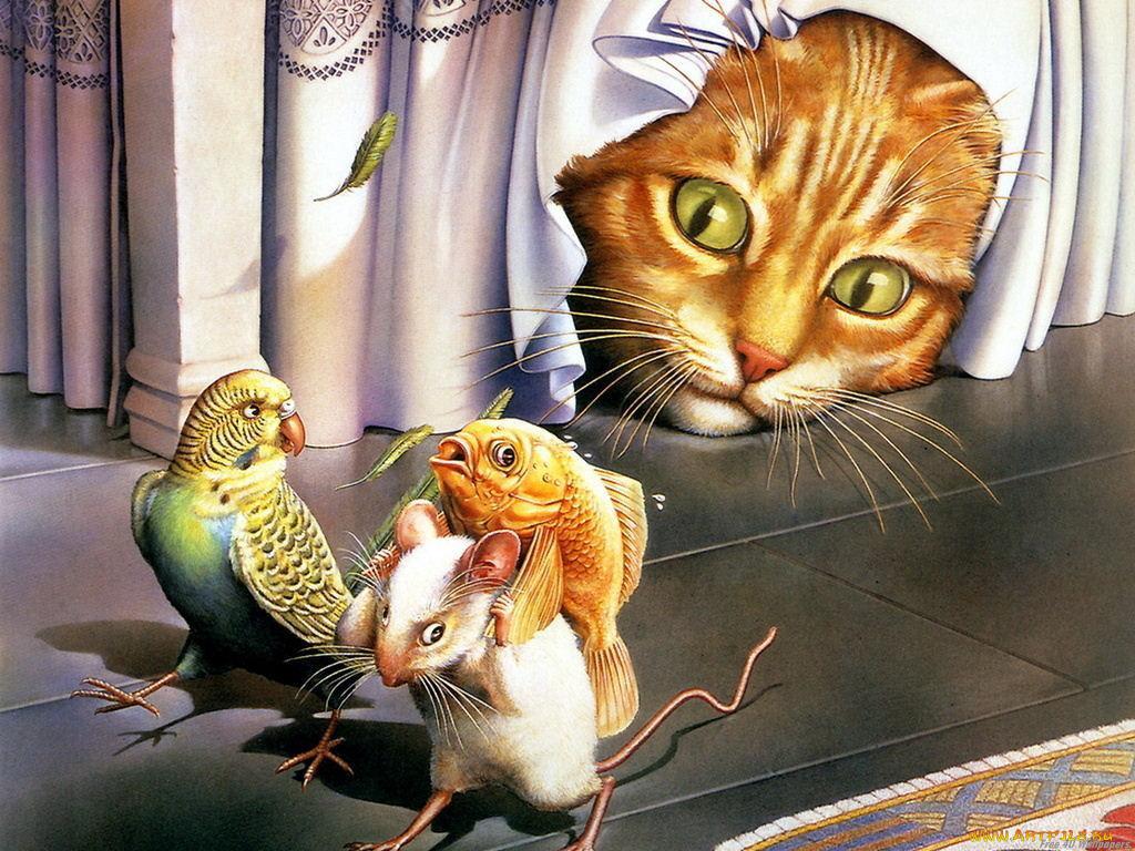 Забавные открытки с животными